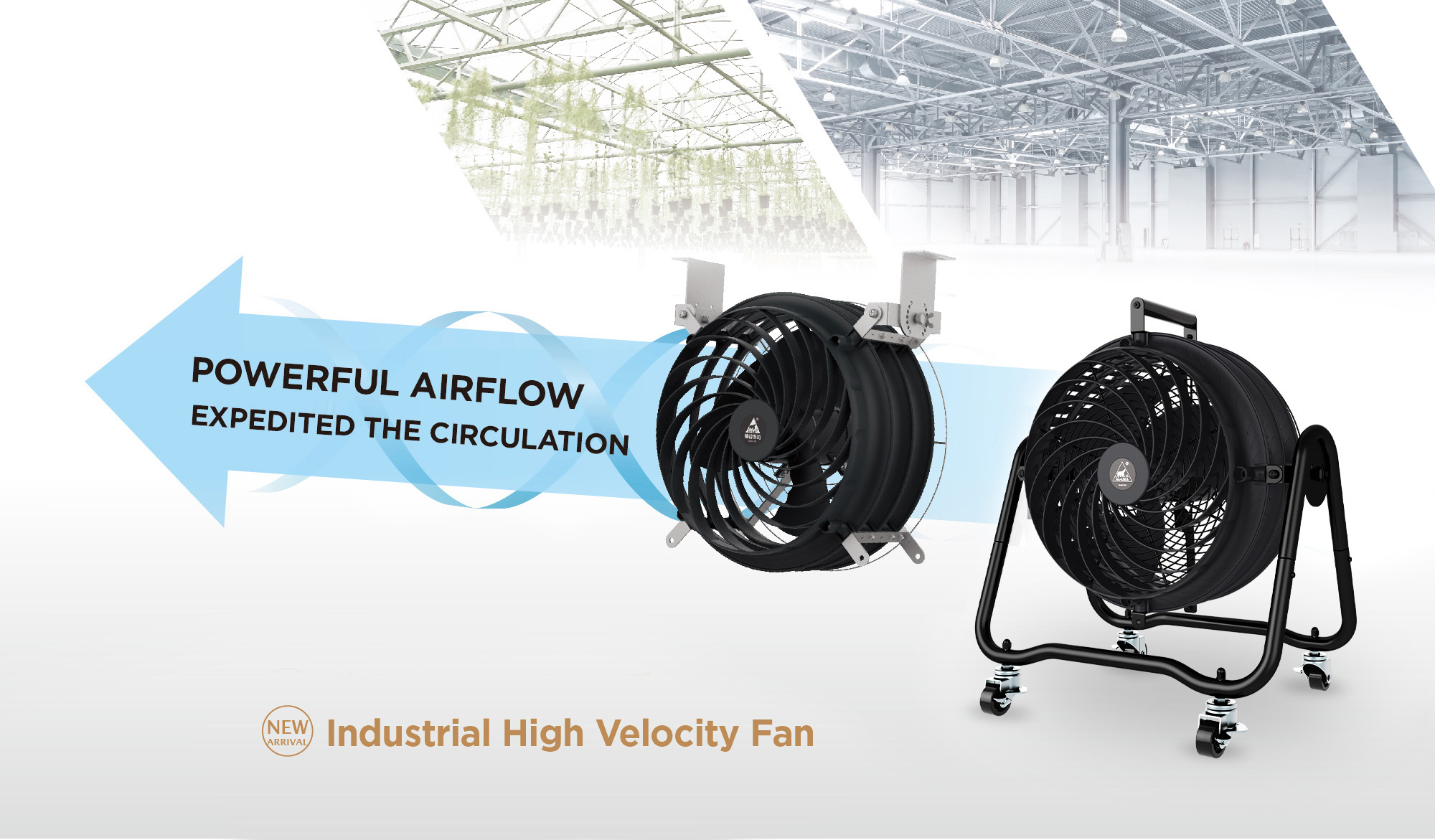 High Velocity Fans